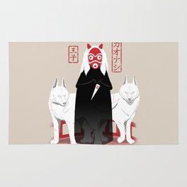 Ouji Kaonashi Rug