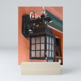 Orange Lamp Mini Art Print