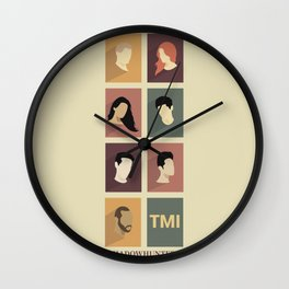 Shadowhunters Wall Clock
