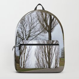 Road and trees 1 Backpack