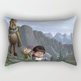Big Foot Rescue Rectangular Pillow