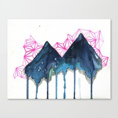 it isn't the first time (mountainscape) Canvas Print