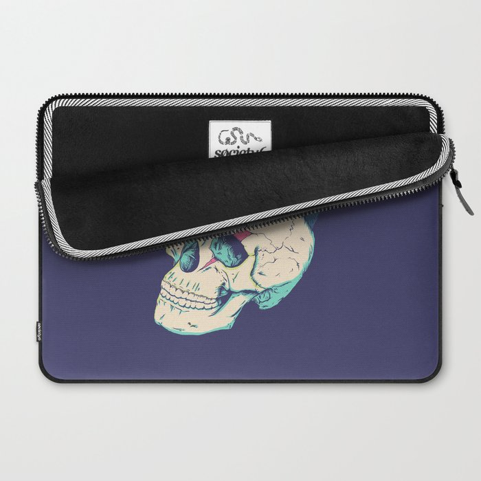 Skull Punk Laptop Sleeve