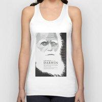 darwin Tank Tops featuring Darwin by James Northcote