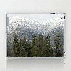 Fresh powdered snow... Laptop & iPad Skin