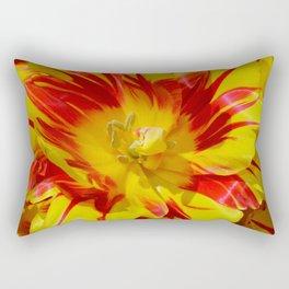 Lovely tulip center Rectangular Pillow