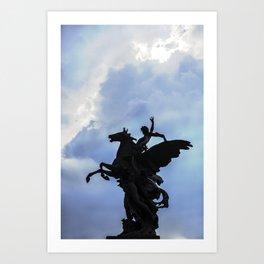 Pegaso A.Q. Art Print