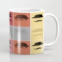 grand theft auto Mugs featuring Identity Theft by Remain In Me Design