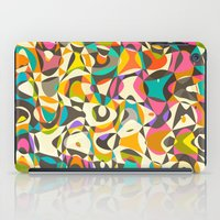 mod iPad Cases featuring Mod Tumble by Beth Thompson