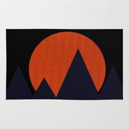 Bold Mountainscape Rug