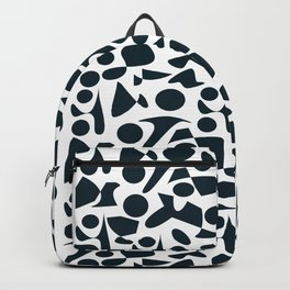 Wild black and white Pattern Backpack
