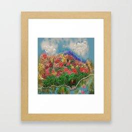 Colorful Landscape Framed Art Print