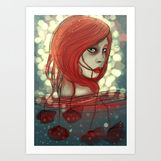 A study in Scarlet Art Print