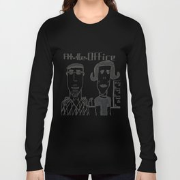 "Jonatan's ""At the Office"" Long Sleeve T-shirt"