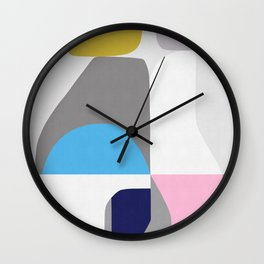 Abstract Art IX Wall Clock