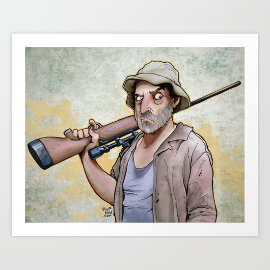 Dale Horvath Art Print