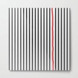 Perfect Lines Metal Print