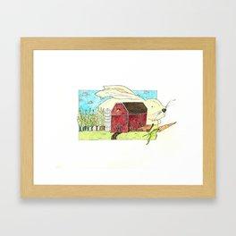 Oswald Framed Art Print