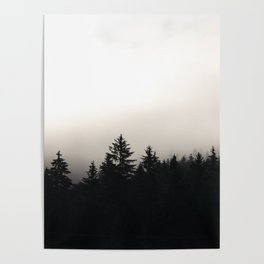the cloudy pines Poster