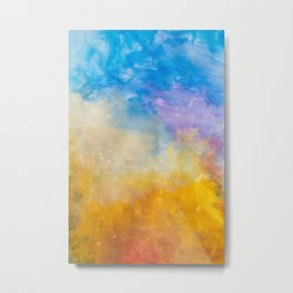Motions of Color Metal Print