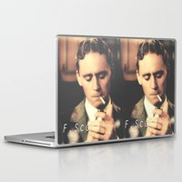 fitzgerald Laptop & iPad Skins featuring F. Scott Fitzgerald by Earl of Grey