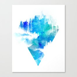 Escape from town Canvas Print