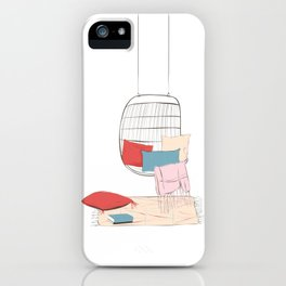 Summer chill iPhone Case