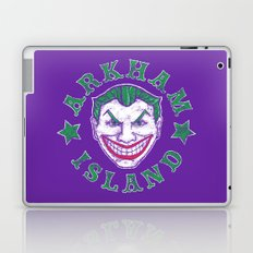 Arkham Island Laptop & iPad Skin