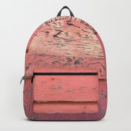Weathered Red Siding Backpack