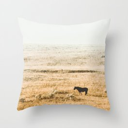 Breakfast in the Fog Throw Pillow