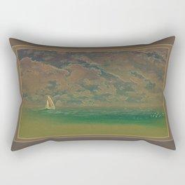 Evening Sail Rectangular Pillow