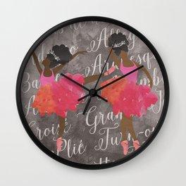 MELANIN DANCES Wall Clock