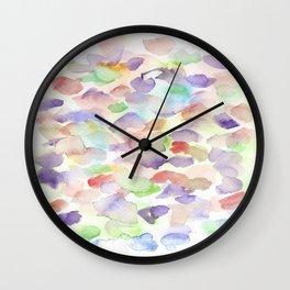 150725 My Happy Bubbles 31 Wall Clock
