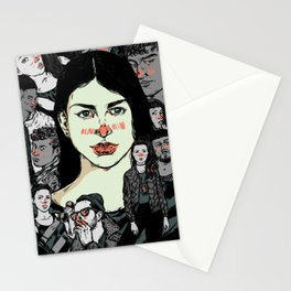 All Those Profile Pictures Stationery Cards