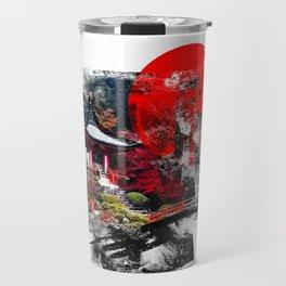Abstract Kyoto Travel Mug