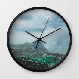 Scafell Pike 2 Wall Clock