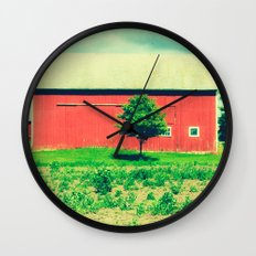 Nicholson barn (2)  Wall Clock