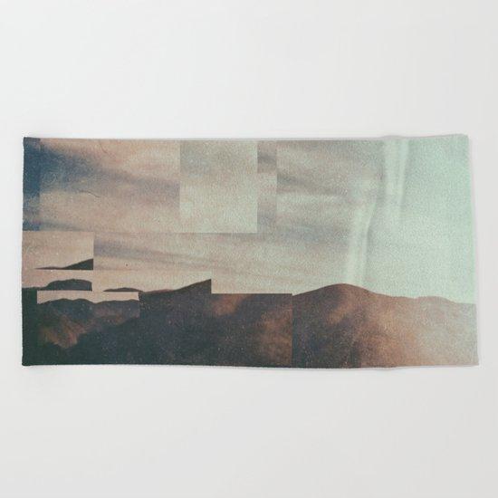 Fractions A40 Beach Towel