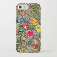 Birds Insects Plants iPhone 7 Slim Case