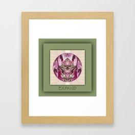 Expand Manifestation Mandala No. 8 Framed Art Print