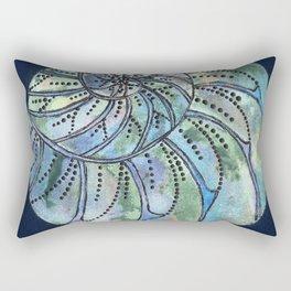 Dreaming Shell Rectangular Pillow