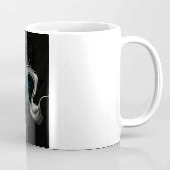 White Dragon Mug