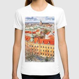 Cracow art 14 #cracow #krakow #city T-shirt