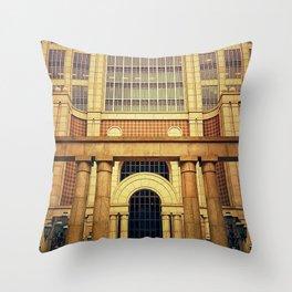 500 boylston Throw Pillow