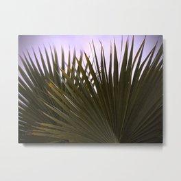 Fan Palm Love Metal Print
