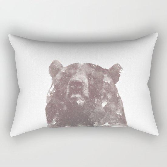 Winter Bear Rectangular Pillow