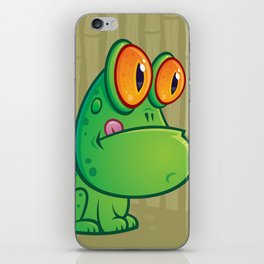 Frog and Dragonfly iPhone Skin