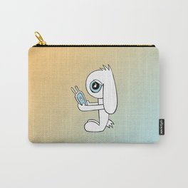 Tech Bunny Carry-All Pouch