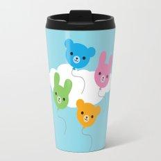 Kawaii Animal Balloons Travel Mug