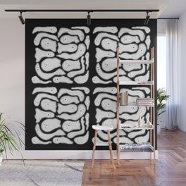 Peeping Ghosts Wall Mural